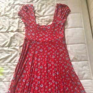 Mini Dress, floral print
